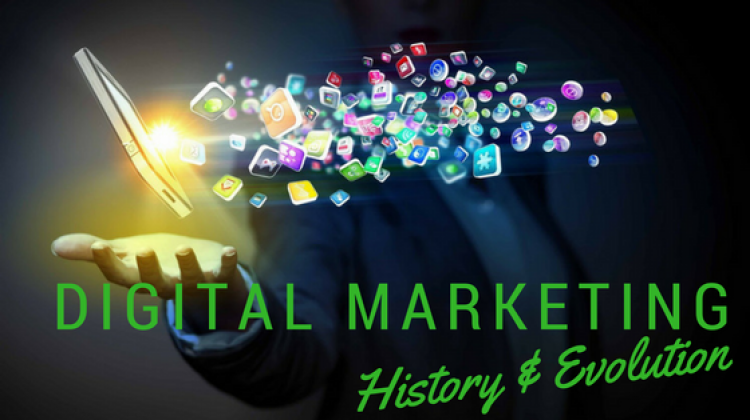 digital marketing history and evolution-Techiflyer